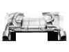 Akrapovic 07-12 BMW 335i (E90 E91) Slip-On Line (Titanium) w/ Titanium Tips