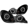 ANZO 1998-2005 Lexus Gs300 Projector Headlights w/ Halo Black
