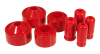 Prothane 07+ Jeep JK 2in Lift Coil Spring Isolator - Red