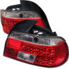 Spyder BMW E39 5-Series 97-00 LED Tail Lights Red Clear ALT-YD-BE3997-LED-RC