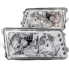 ANZO 1981-1991 Mercedes Benz S Class W126 Crystal Headlights Chrome