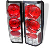 Spyder Chevy Astro/Safari 85-05 Euro Style Tail Lights Chrome ALT-YD-CAS85-C
