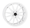 Cosmis Racing R1 White Wheel 19x8.5 +35mm 5x114.3