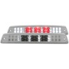 ANZO 1994-2001 Dodge Ram 1500 LED 3rd Brake Light Chrome B - Series