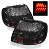 Spyder Audi A4 96-01 LED Tail Lights Smoke ALT-YD-AA496-LED-SM