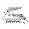 BBK 79-93 Mustang 5.0 Shorty Unequal Length Exhaust Headers - 1-5/8 Silver Ceramic