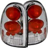 ANZO 1996-2000 Chrysler Voyager Taillights Chrome