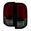 Spyder 2010 Chevy Silverado Version 2 LED Tail Lights Red Smoke ALT-YD-CS10V2-LED-RS