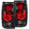 ANZO 1989-1995 Toyota Pickup Taillights Black