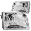 ANZO 1993-1997 Ford Ranger Crystal Headlights Chrome