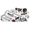 Banks Power 03-04 Dodge 5.9L CCLB(Catted) Six-Gun Bundle - SS Single Exhaust w/ Black Tip