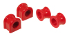 Prothane 00-01 Dodge Dakota 4wd Front Sway Bar Bushings - 35mm - Red