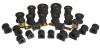 Prothane 01-03 Honda Civic Total Kit - Black