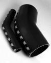 Turbosmart 45 Elbow 2.25 - Black Silicone Hose
