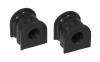 Prothane 06+ Honda Civic Rear Sway Bar Bushings - 17mm - Black