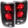 ANZO 1995-2005 Chevrolet Blazer Taillights Black