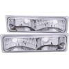 ANZO 1988-1998 Chevrolet C1500 Euro Parking Lights Chrome