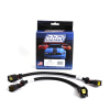 BBK 05-15 Dodge 4 Pin Square Style O2 Sensor Wire Harness Extensions 12 (pair)