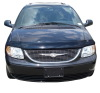 AVS 01-07 Chrysler Town & Country High Profile Bugflector II Hood Shield - Smoke