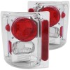 ANZO 1973-1987 Chevrolet C 10 Taillights Chrome
