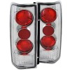 ANZO 1985-2005 Chevrolet Astro Taillights Chrome G2