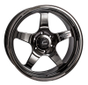Cosmis Racing XT-005R Black Chrome Wheel 20x9.5 +15mm 6x139