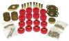 Prothane 07-11 Jeep Wrangler JK 2DR Body Mount Kit - Red