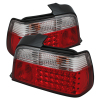 Spyder BMW E36 3-Series 92-98 4Dr LED Tail Lights Red Clear ALT-YD-BE3692-4D-LED-RC
