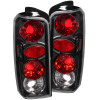 ANZO 1997-2001 Jeep Cherokee Taillights Black