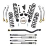ReadyLift Suspension 07-15 Jeep Wrangler JK 4.0in Spring And 4 Arm Kit