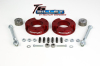 ReadyLift Suspension 05-15 Toyota Tacoma 2.25in T6 Billet Aluminum Leveling Kit Anodized - Red