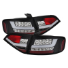 Spyder Audi A4 09-12 4Dr LED Tail Lights Incandescent Model Blk ALT-YD-AA409-LED-BK