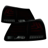 Spyder 07-11 Lexus GS 350 LED Tail Lights Red Smoke ALT-YD-LGS06-LED-RS
