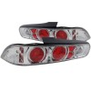 ANZO 1994-2001 Acura Integra Taillights Chrome