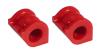 Prothane 06+ Honda Civic Front Sway Bar Bushings - 25.4mm - Red