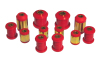 Prothane 00-01 Toyota Celica Rear Control Arm Bushings - Red