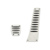 Dinan Aluminum Pedal Cover Set for BMW with Automatic Transmission -No Applications