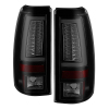 Spyder 03-06  Chevy Silverado (Does Not Fit Stepside) Version 2 LED Tail Lights - Black Smoke