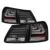 Spyder 07-11 Lexus GS 350 LED Tail Lights Black ALT-YD-LGS06-LED-BK