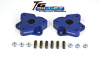 ReadyLift Suspension 06-15 Dodge Ram 1500 2.0in T6 Billet Aluminum Leveling Kit Anodized - Blue