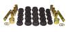 Prothane 06-11 Honda Civic Rear Control Arm Bushings - Black
