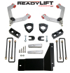 ReadyLift Suspension 07-13 Chevy Silv/Sierra 1500 SST Lift Kit 4.0in Front A-Arm 1.75in Rear Kit