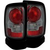 ANZO 1994-2001 Dodge Ram Taillights Smoke