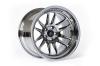 Cosmis Racing XT-206R Black Chrome Wheel 17x9 +5mm 5x114.3
