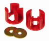 Prothane 00+ Dodge Neon Motor Mount Insert Kit - Race - Red