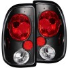 ANZO 1997-2004 Dodge Dakota Taillights Black