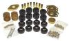 Prothane 07-11 Jeep Wrangler JK 2DR Body Mount Kit - Black