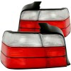 ANZO 1992-1998 BMW 3 Series E36 Taillights Red/Clear