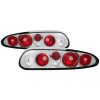 Spyder Chevy Camaro 93-02 Euro Style Tail Lights Chrome ALT-YD-CCAM98-C