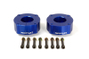 ReadyLift Suspension 07-15 Toyota Tundra 2.4in T6 Billet Aluminum Leveling Kit Anodized - Blue
